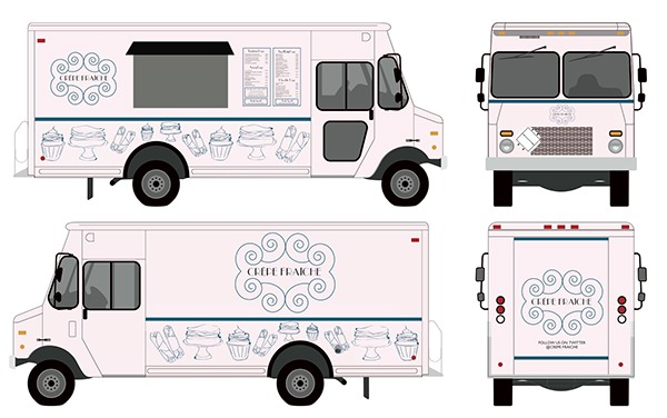 Food truck on behance for Food truck layout