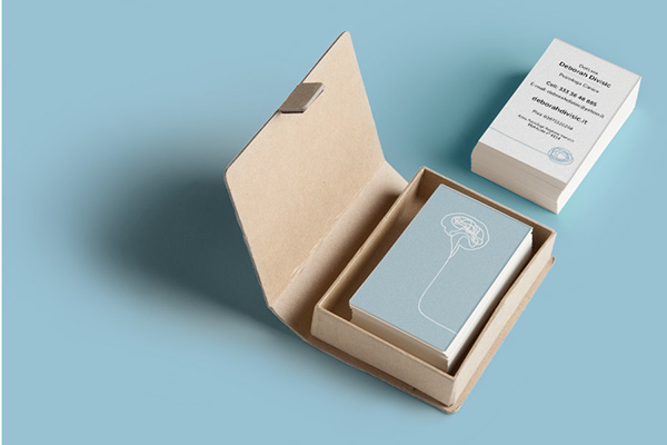 Business card and brochure for a psychologist on behance thank you colourmoves