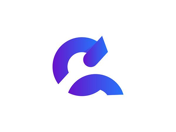 C+A modern Letter Logo design concept