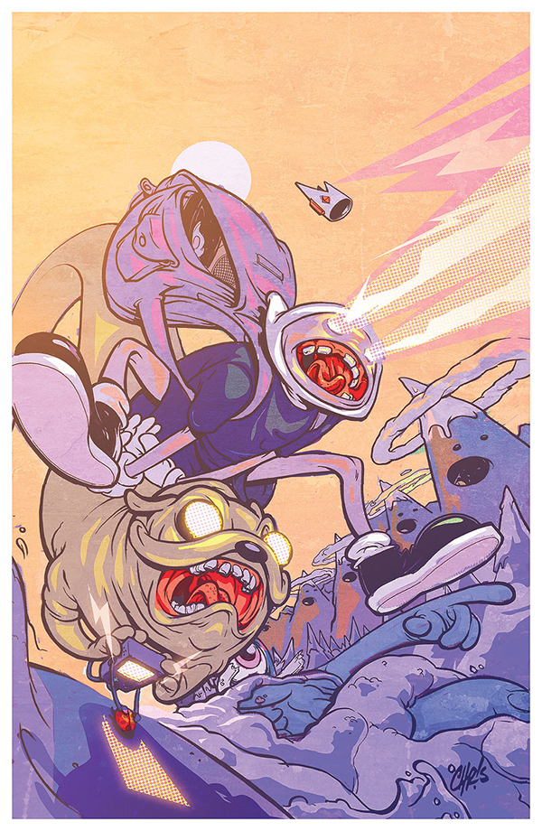 Adventure Time #19 Variant (Kaboom) by Chris Visions