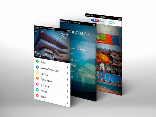 app ios android smartphone tablet tourism valencia