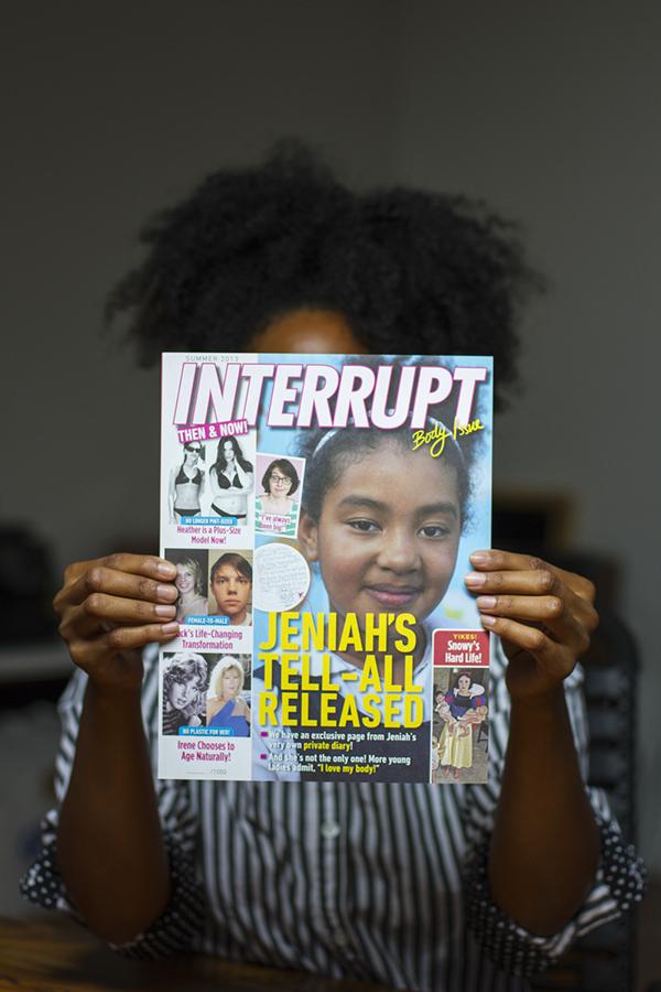 magazine editorial interrupt mag interrupt logo