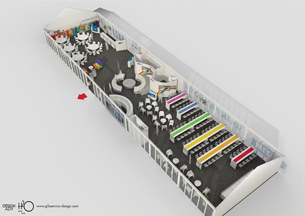 Hospitality Telecom TIM architettura design