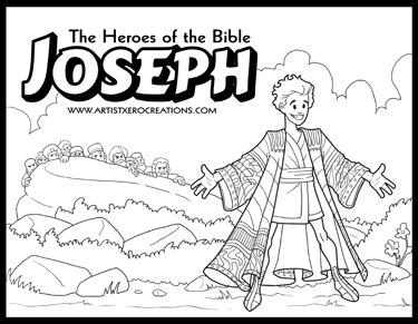Coloring (Deborah and Barak) - Kids Korner - BibleWise | 291x375