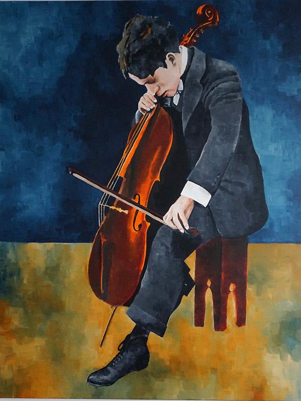 cello Chaplin