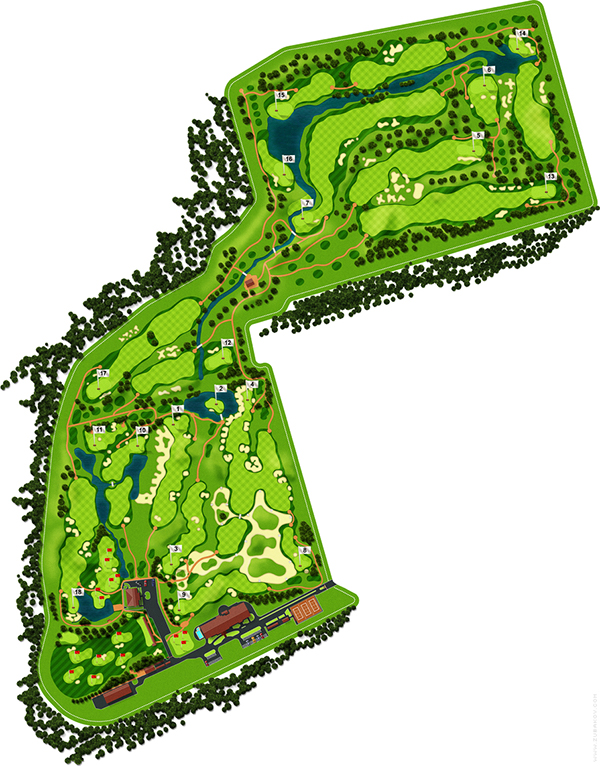 Superior Golf Master Plan on