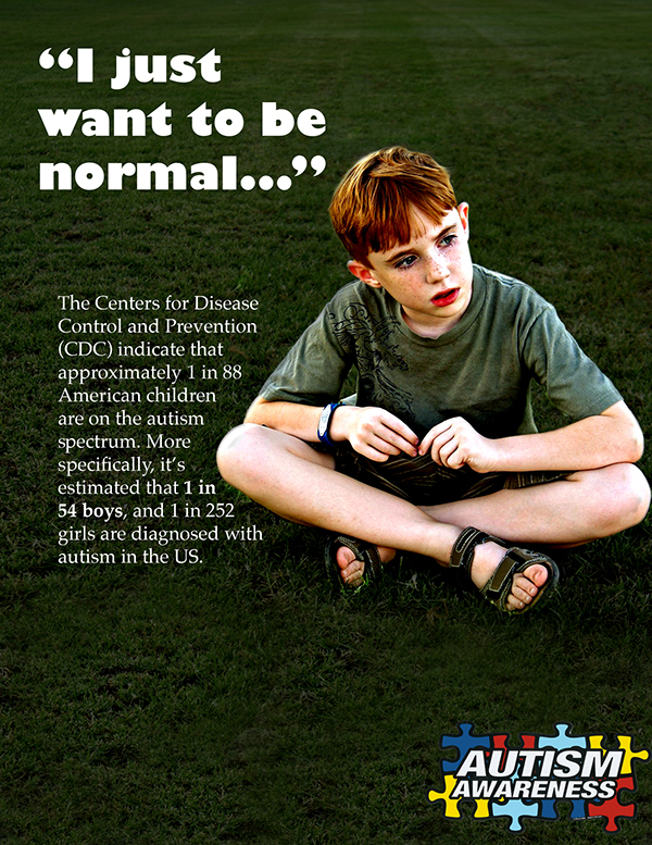 Autism Awareness Campaign Posters on Behance
