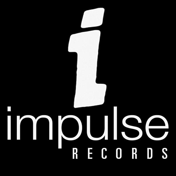 logo design letter business card impulse Records typography