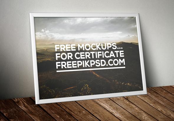 free certificate mockups psd download on behance