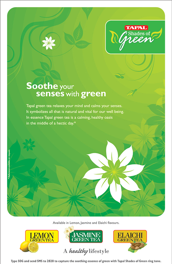Tapal Green Tea Campaign Soothe Your Senses With Green On