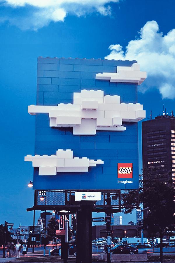 LEGO billboard