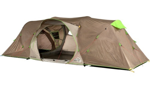 Camping tent 2 seconds on behance - Tente 4 places 2 chambres seconds family 4 2 xl quechua ...