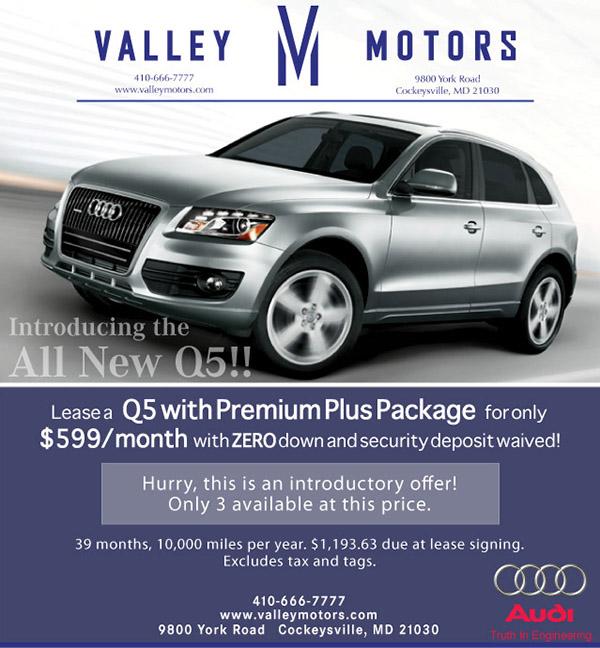 Valley Motors Marketing pieces on Behance