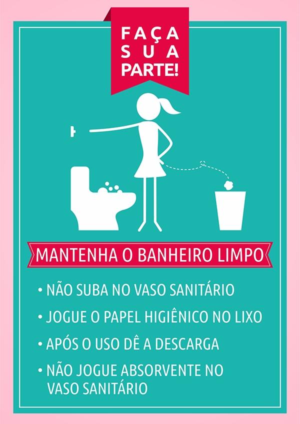 Cartaz Banheiro Feminino Liusn Com Obtenha Uma Imagem