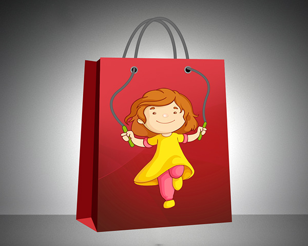 creative paper bag designs on behance
