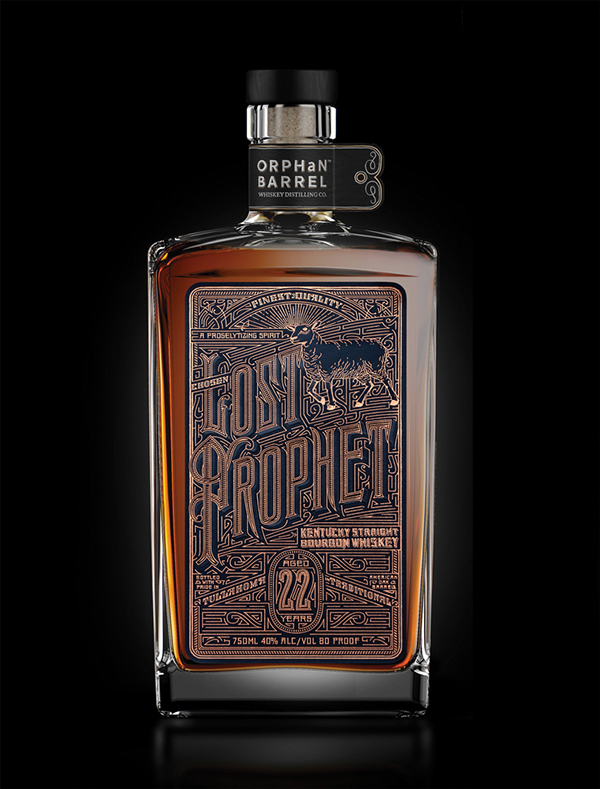 Orphan Barrel: Lost Prophet Label by Kevin Cantrell