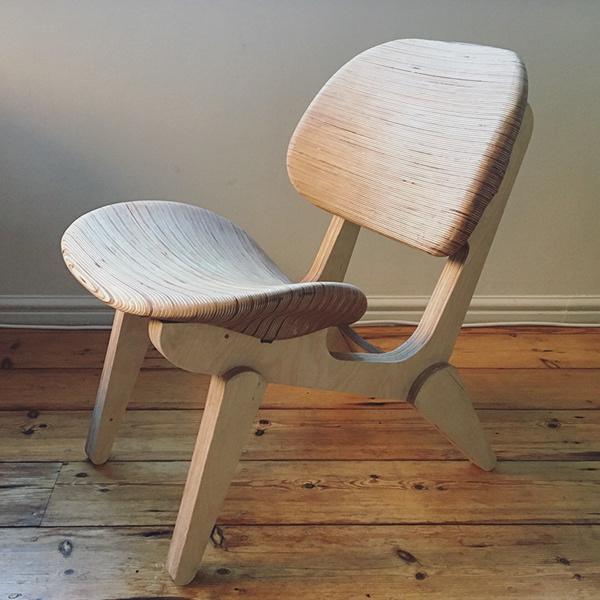 Cnc Lounge Chair On Scad Portfolios