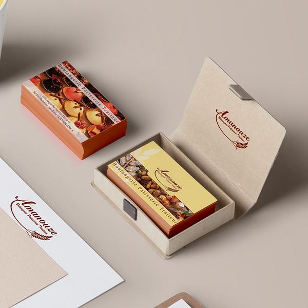 Branding Pour Amanouze Et Une Patisserie