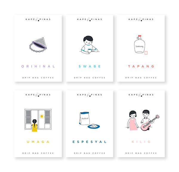 Kape Pinas | Logo and Packaging