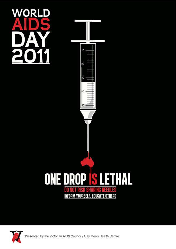 World Aids Day 2011 - Poster on Behance