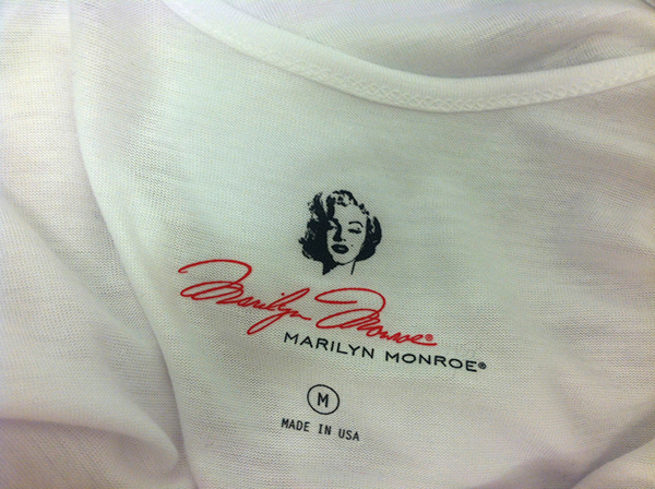 Marilyn monroe for macy 39 s on behance for Heat transfer labels for t shirts