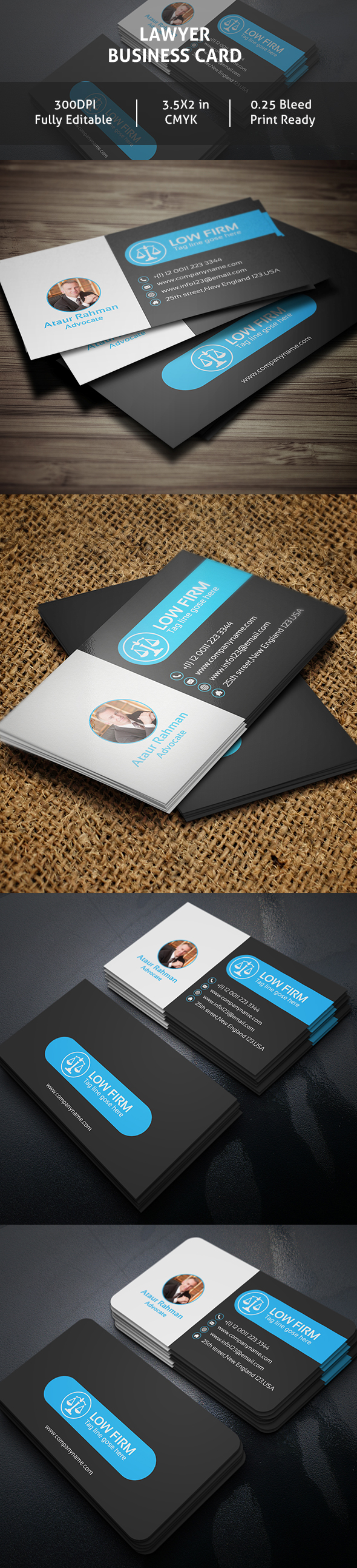 Free lawyer business card on behance reheart Choice Image