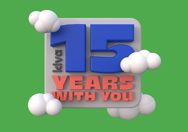 Kiva - 15 years with you