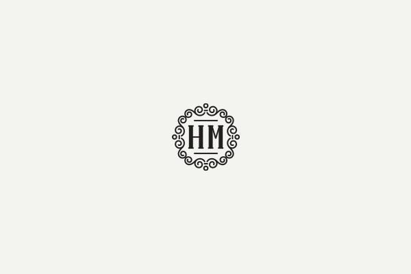 HM Monogram视觉形象设计欣赏