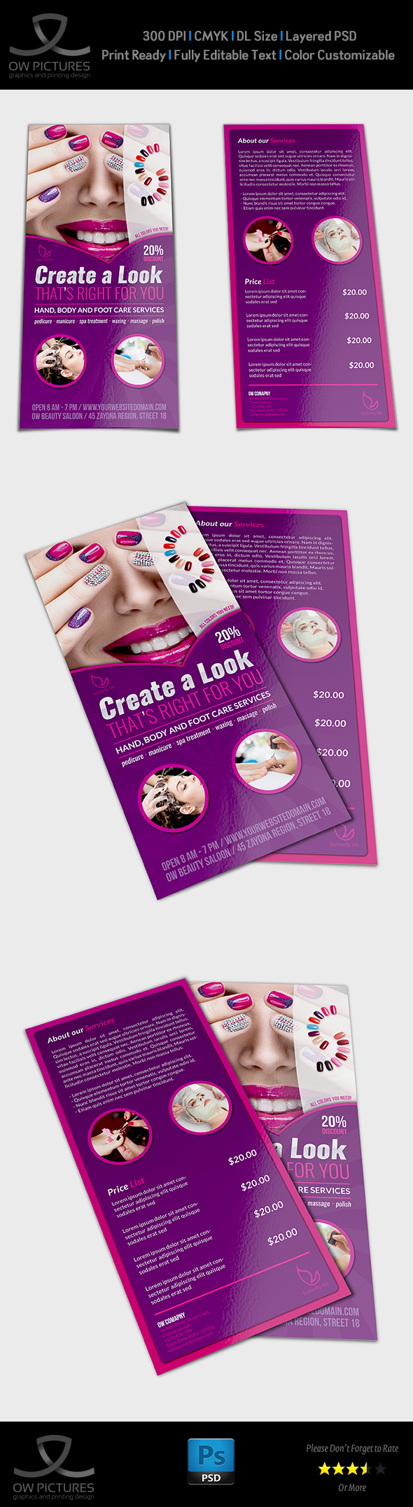 Dl Flyer Template Yelommyphonecompanyco - Dl size flyer template