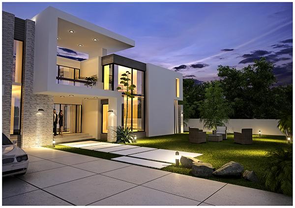 Residential Exterior Design 39 S On Behance