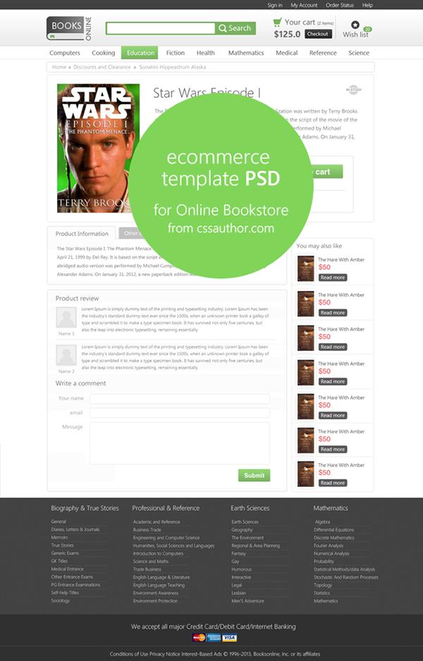 17 beautiful web design template psd on behance. Black Bedroom Furniture Sets. Home Design Ideas