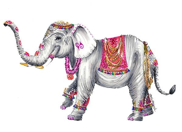Elephant Love Drawing Elephant Love on Behance
