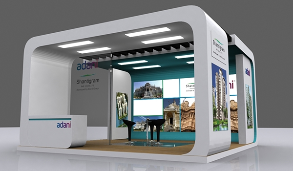 Exhibition Stall Designer In Ahmedabad : Exhibition stall design in ahmedabad on behance