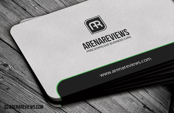 Sleek rounded corner business card free on behance download free it here cheaphphosting Images