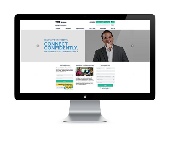 Fiu Online Web Print Presence On Behance