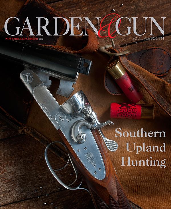 garden and gun magazine on behance
