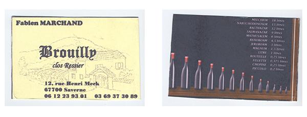 Carte De Visite Pour Vigneron