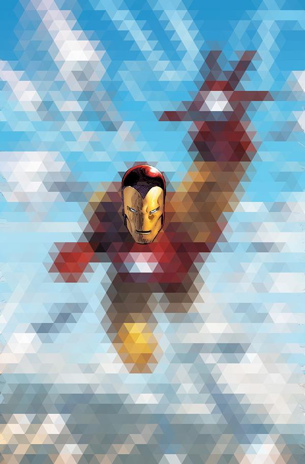 Marvel Character Design Behance : Triangulation mosaic marvel characters on behance