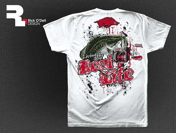 Bass Fishing T-Shirts, Screen-printing on Behance