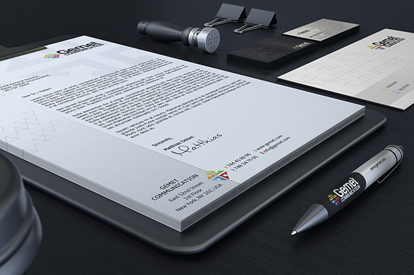 business card Corporate Identity free download free download Stationery letterhead invoice template logo black White creative editable modern
