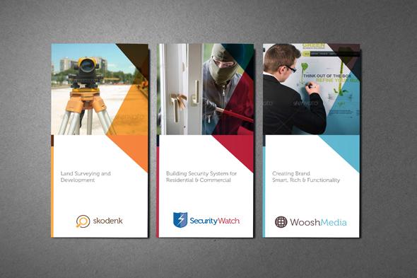 Multipurpose Professional Services Brochure On Behance