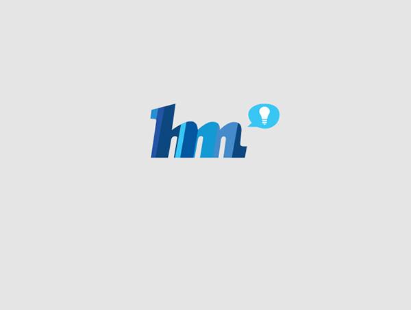 helder agency logo ontwerp logo ontwerp blue balloon light bulb pattern Freelance designer Michiel Nagtegaal dutch Netherlands Web development