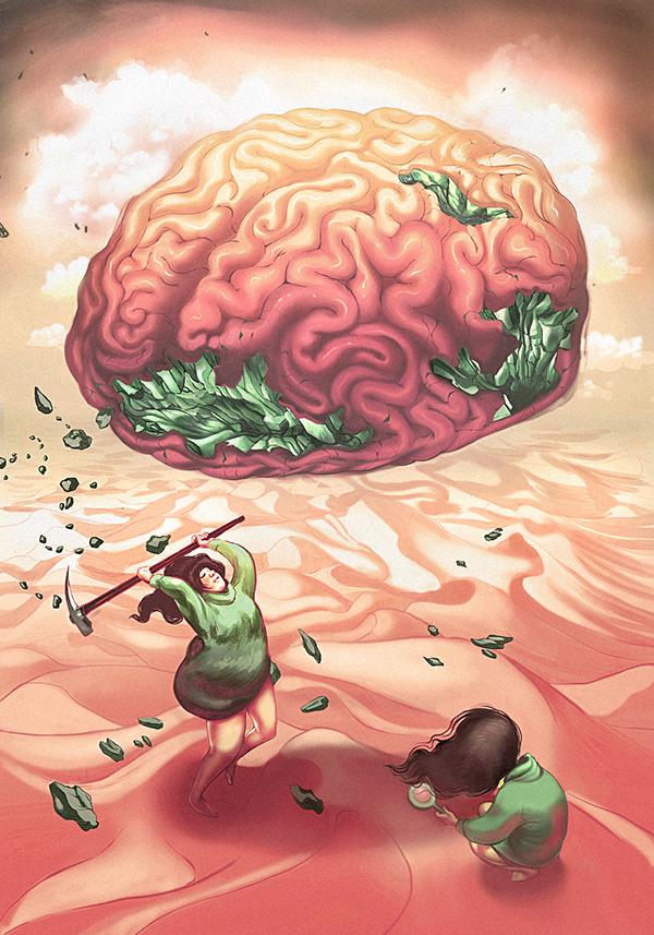 Подписывать, картинки о мозге прикольные