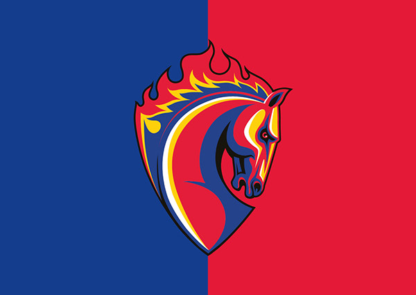 Professional Football Club CSKA Moscow Official Symbol On