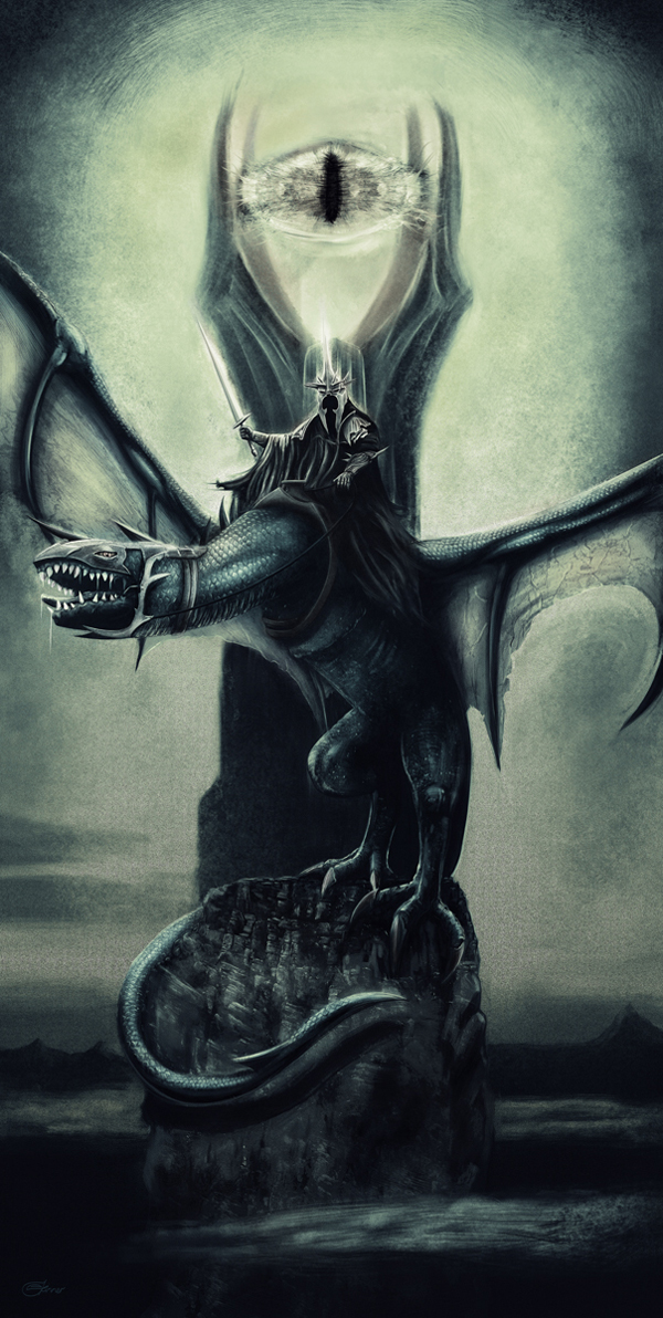 Lord of the Nazgul by Chris Skinner