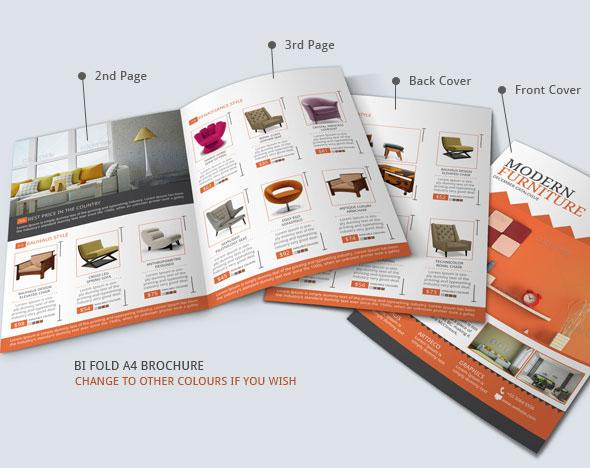 Furniture Store Brochure Design On Behance