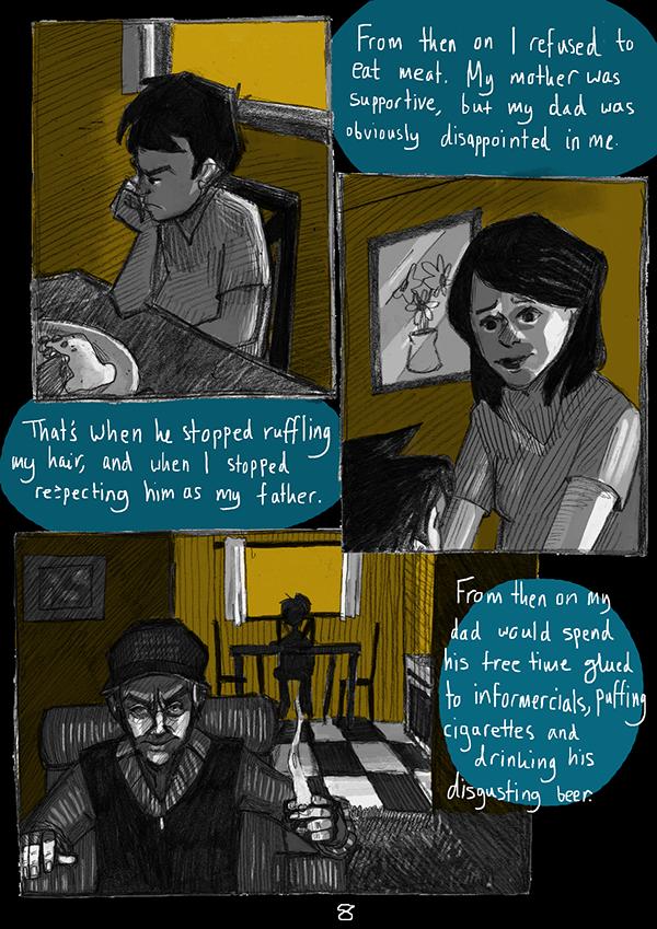 Graphic Novel narrative