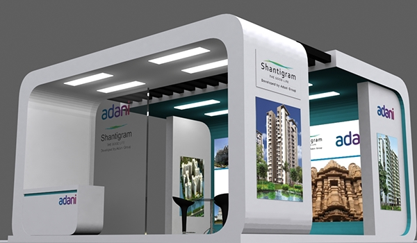 Exhibition Stall In Ahmedabad : Exhibition stall design in ahmedabad on behance