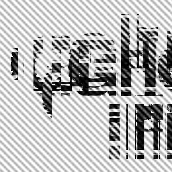 Glitch Art Typography Glitch Typography on Behance