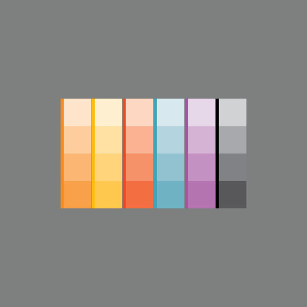 apricot - live in shirts on Pantone Canvas Gallery